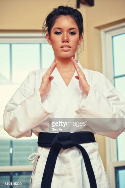 martial arts focus - gerville stock pictures, royalty-free photos & images