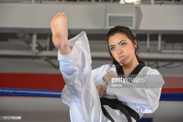 martial arts heights - gerville stock pictures, royalty-free photos & images