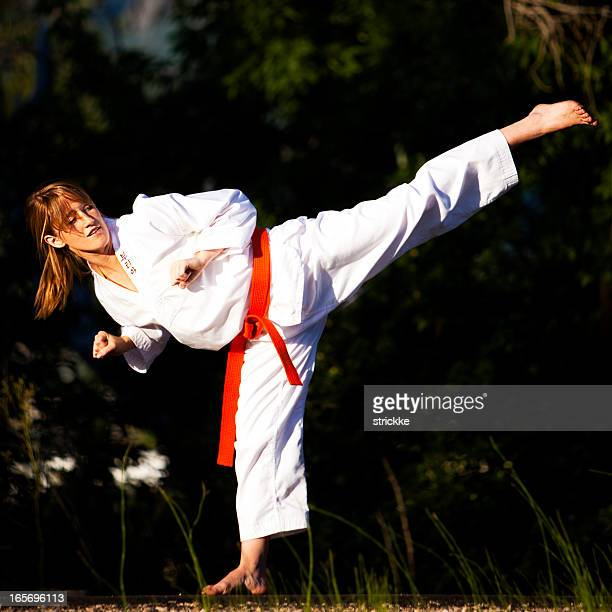 Martial Arts High Kick