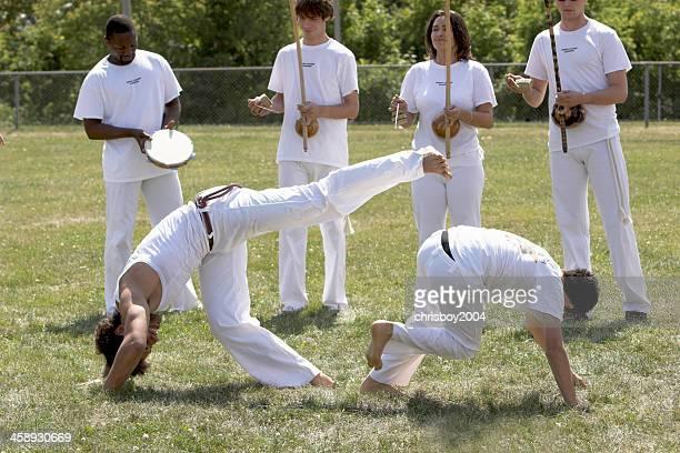 artes marciais - capoeira imagens e fotografias de stock