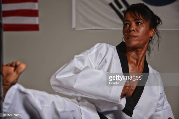 martial arts sweat - gerville stock pictures, royalty-free photos & images