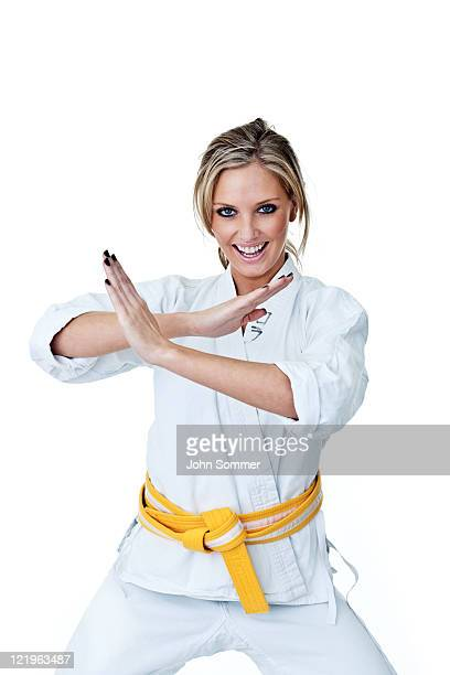 martial arts woman - adults only stock pictures, royalty-free photos & images