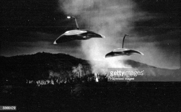 Martian war machines bring the human race to the brink of extinction in Paramount's screen adaptation of H G Wells' novel 'The War Of The Worlds'...