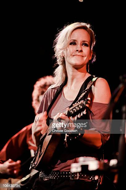 Martie Maguire of Court Yard Hounds performs at the Union Chapel on November 1 2010 in London England
