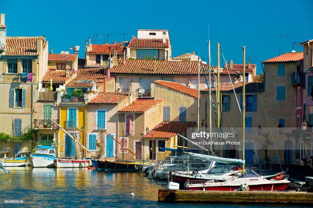 Martigues, Bouches du Rhone, France : Stock Photo