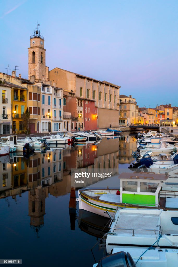 District of 'L'ile de Martigues'. : News Photo