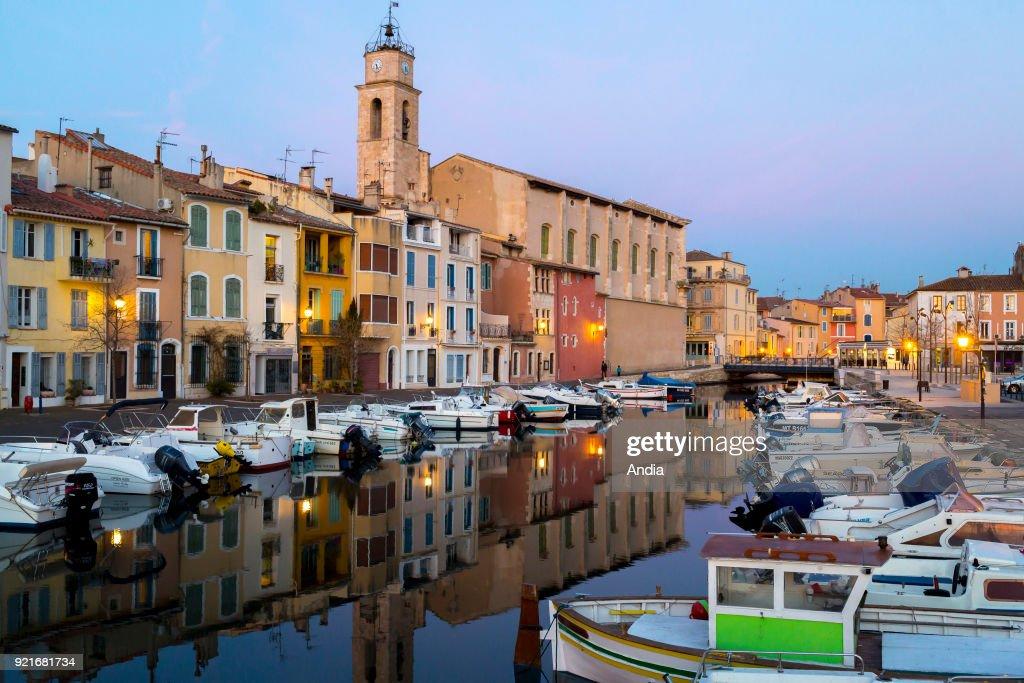 District of 'L'ile de Martigues'. : News Photo