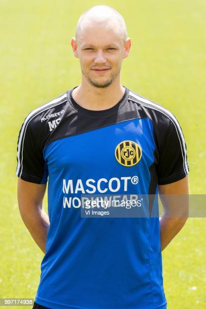 Martijn Smeets during the team presentation of Roda jc on July 12 2018 at the Parkstad Limburg stadium in Kerkrade The Netherlands