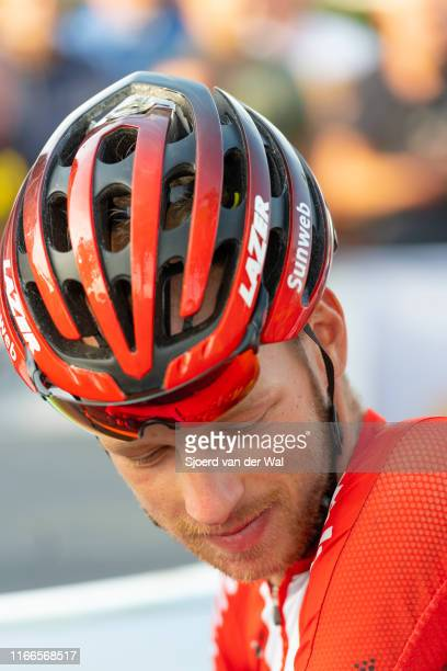 Martijn Tusveld of the Netherlands and Team Sunweb during the 2019 Spektakel van Steenwijk on August 6 2019 in Steenwijk Netherlands