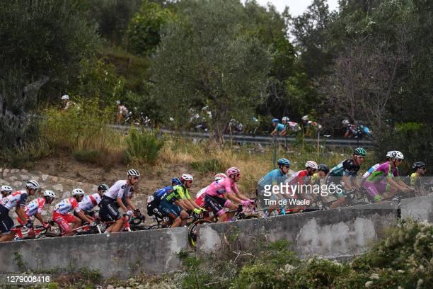 Martijn Tusveld of The Netherlands and Team Sunweb / Lorenzo Rota of Italy and Team Vini Zabu KTM / Joao Almeida of Portugal and Team Deceuninck -...
