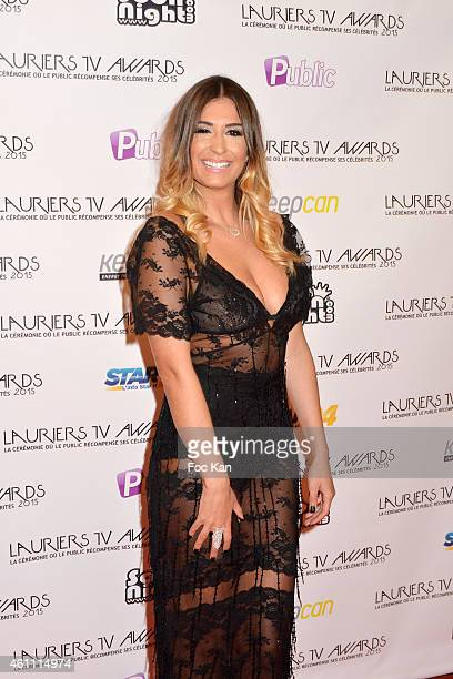Martika from The Bachelor attends The 'Lauriers TV Awards 2015 Ceremony' Red Carpet Arrivals At La Cigale In Paris on January 06 2015 in Paris France