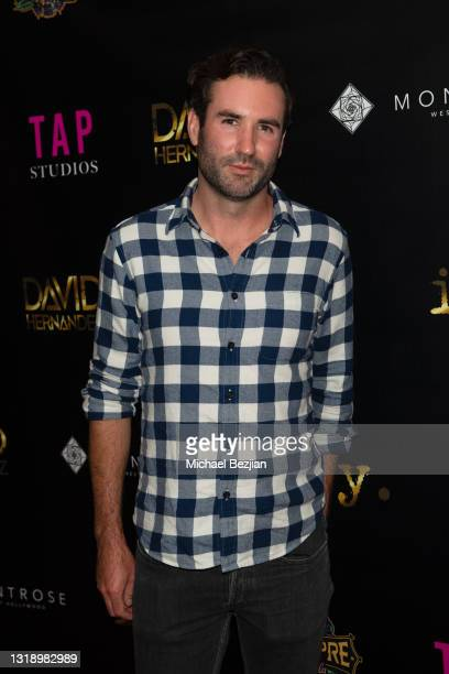 """Martin Abzug attends The Artists Project visits """"ily."""" Video Music Premiere by David Hernandez on May 19, 2021 in Los Angeles, California."""