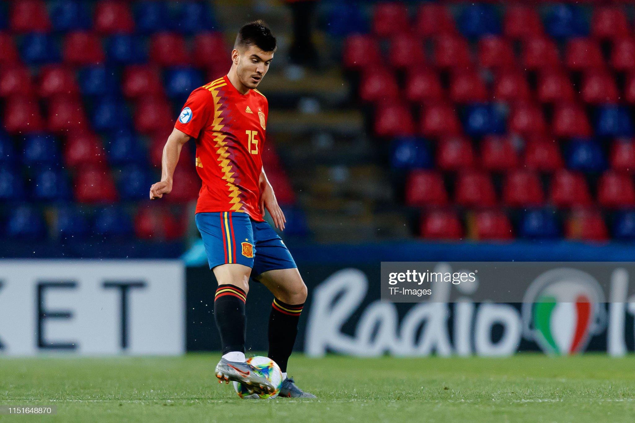 Spain v Poland: Group A - 2019 UEFA U-21 Championship : Fotografia de notícias