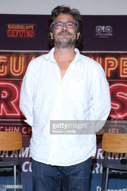 Martin Altomaro poses for photos at the end of the press conference at Cinepolis Universidad on November 19 2019 in Mexico City Mexico