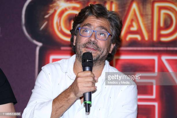 Martin Altomaro talked with the Media during a press conference at Cinepolis Universidad on November 19 2019 in Mexico City Mexico