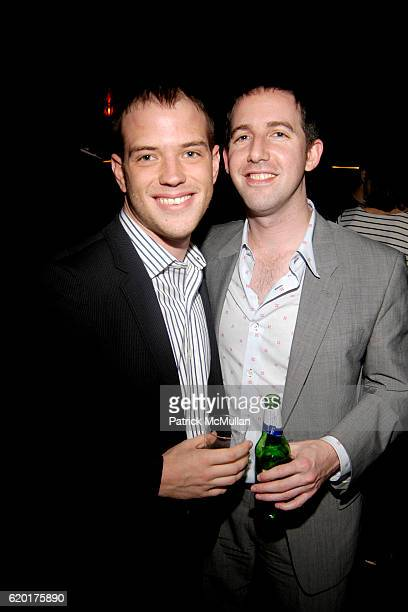 Martin and Aaron attend 'SLEEPWALK WITH ME' Opening Night Afterparty Starring MIKE BIRBIGLIA at Amsterdam Billiards Club on November 11 2008 in New...