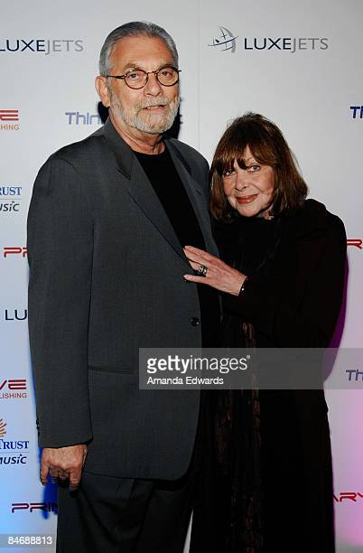 Martin and Rona Macnow attend the Primary Wave Music Publishing preGrammy party at SLS Hotel on February 7 2009 in Los Angeles California