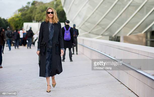 Martin at Louis Vuitton during the Paris Fashion Week Womenswear Spring/Summer 2016 on Oktober 7 2015 in Paris France