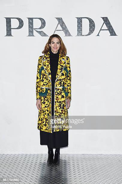 J Martin attends the Prada Journal event during the Milan Menswear Fashion Week Fall Winter 2015/2016 on January 19 2015 in Milan Italy