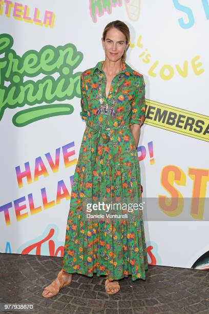 J Martin attends the Stella McCartney photocall during Milan Men's Fashion Week Spring/Summer 2019 on June 18 2018 in Milan Italy