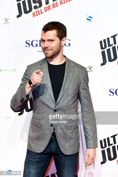 Martin Baden during the 'Ultimate Justice' premiere at Kino Alexa on December 14 2018 in Berlin Germany