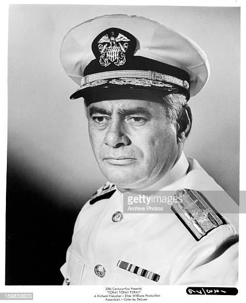 Martin Balsam in publicity portrait for the film 'Tora Tora Tora' 1970