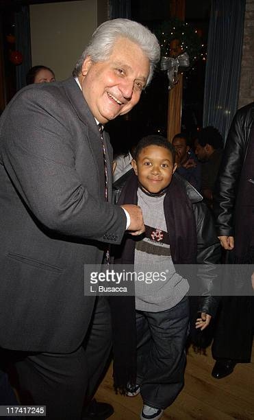 Martin Bandier CEO/chairman of EMI Publishing and Emmanuel Lewis