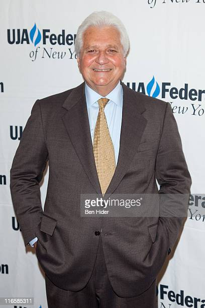 Martin Bandier Chairman and CEO of Sony/ATV Music Publishing attends the UJA 2011 Music Visionary of the Year Award Luncheon at The Pierre Hotel on...