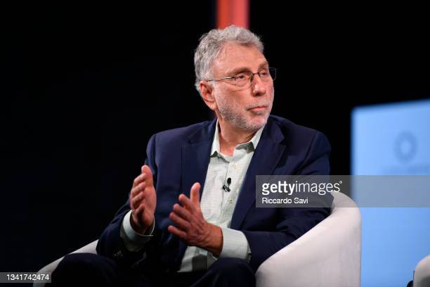 Martin Baron, Former Executive Editor, The Washington Post, speaks onstage during the 2021 Concordia Annual Summit - Day 2 at Sheraton New York on...