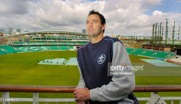 Martin Bicknell of Surrey CCC at the Oval London 1st May 2006.