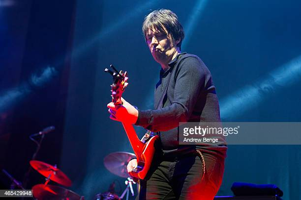 Martin Blunt of The Charlatans performs on stage at Albert Hall on March 6 2015 in Manchester United Kingdom