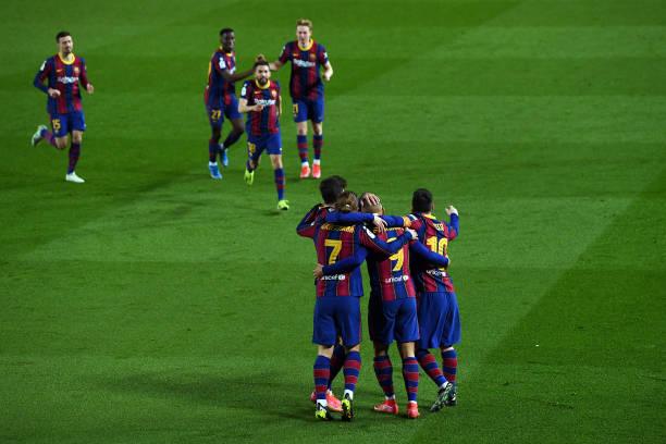ESP: FC Barcelona v Sevilla: Copa del Rey Semi Final Second Leg