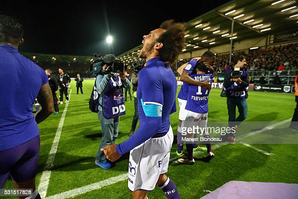 Martin Braithwaite of Toulouse after the football french Ligue 1 match between Angers SCO and Toulouse FC on May 14 2016 in Angers France