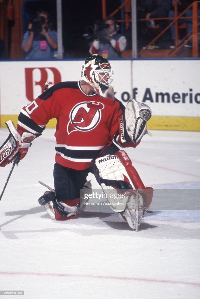 Martin Brodeur Of The Philadelphia Flyers On November 29 1997 At