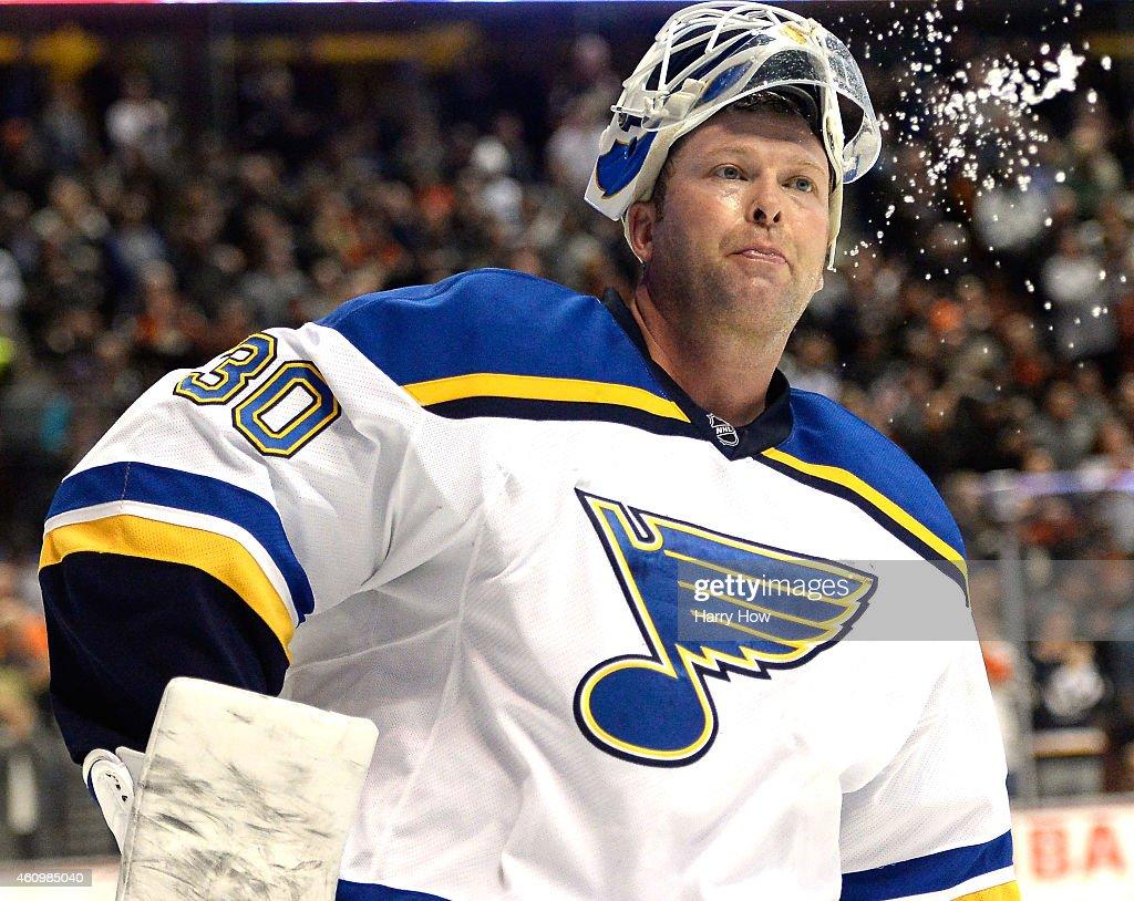 St Louis Blues v Anaheim Ducks : News Photo