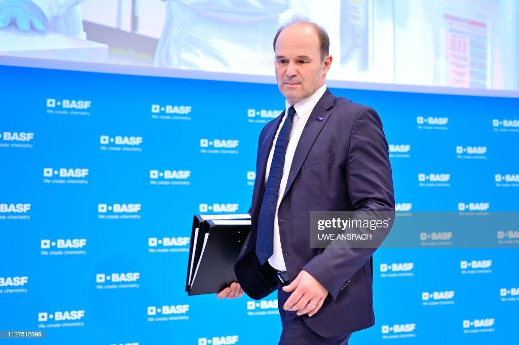 Martin Brudermueller, chairman of German chemicals giant