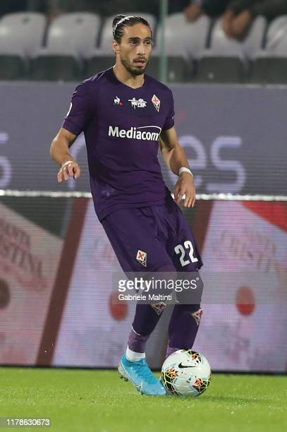 Martin Caceres of ACF Fiorentina in action during the Serie A match between ACF Fiorentina and SS Lazio at Stadio Artemio Franchi on October 27 2019...