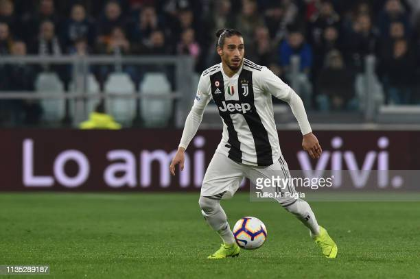 Martin Caceres of Juventus in action during the Serie A match between Juventus and Udinese at Allianz Stadium on March 08 2019 in Turin Italy