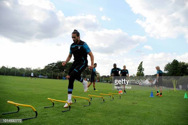 Martin Caceres of SS Lazio during the SS Lazio training session on August 10 2018 in Marienfeld Germany