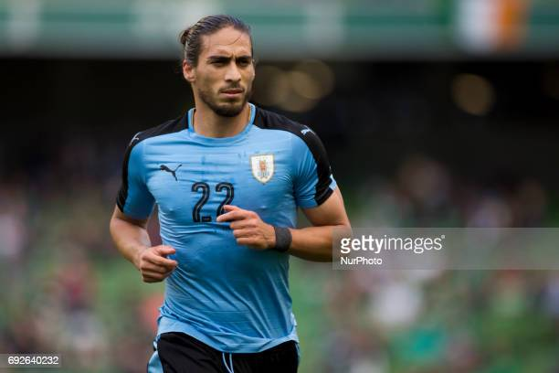 Martin Caceres of Uruguay pictured during the International Friendly match between Republic of Ireland and Uruguay at Aviva Stadium in Dublin Ireland...