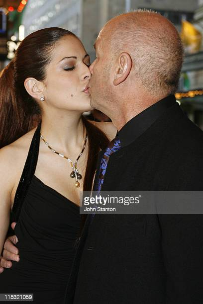 Martin Campbell and Solveig Romero during 'Casino Royale' Australian Premiere Red Carpet at State TheatreSydney in Sydney NSW Australia