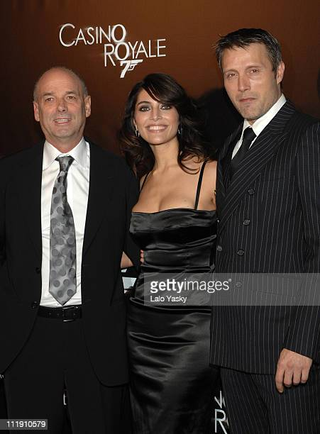 Martin Campbell Caterina Murino and Mads Mikkelsen