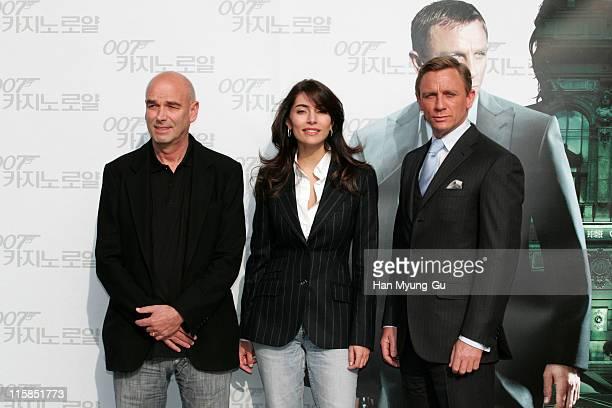 Martin Campbell director Caterina Murino and Daniel Craig