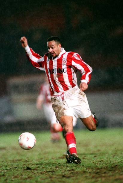 Soccer Anglo Italian Cup Stoke City V Notts County Pictures