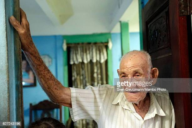 Martin Castro halfbrother of Cubas former President Fidel Castro at his home in Biran where Fidel Castro was born on December 2nd in Biran Eastern...