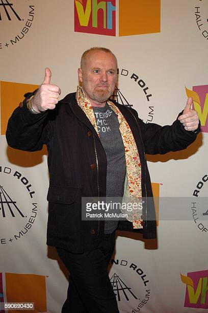 Martin Chambers attends The 20th Annual Rock and Roll Hall of Fame Induction: Arrivals at Waldorf Astoria Hotel on March 14, 2005 in New York City.