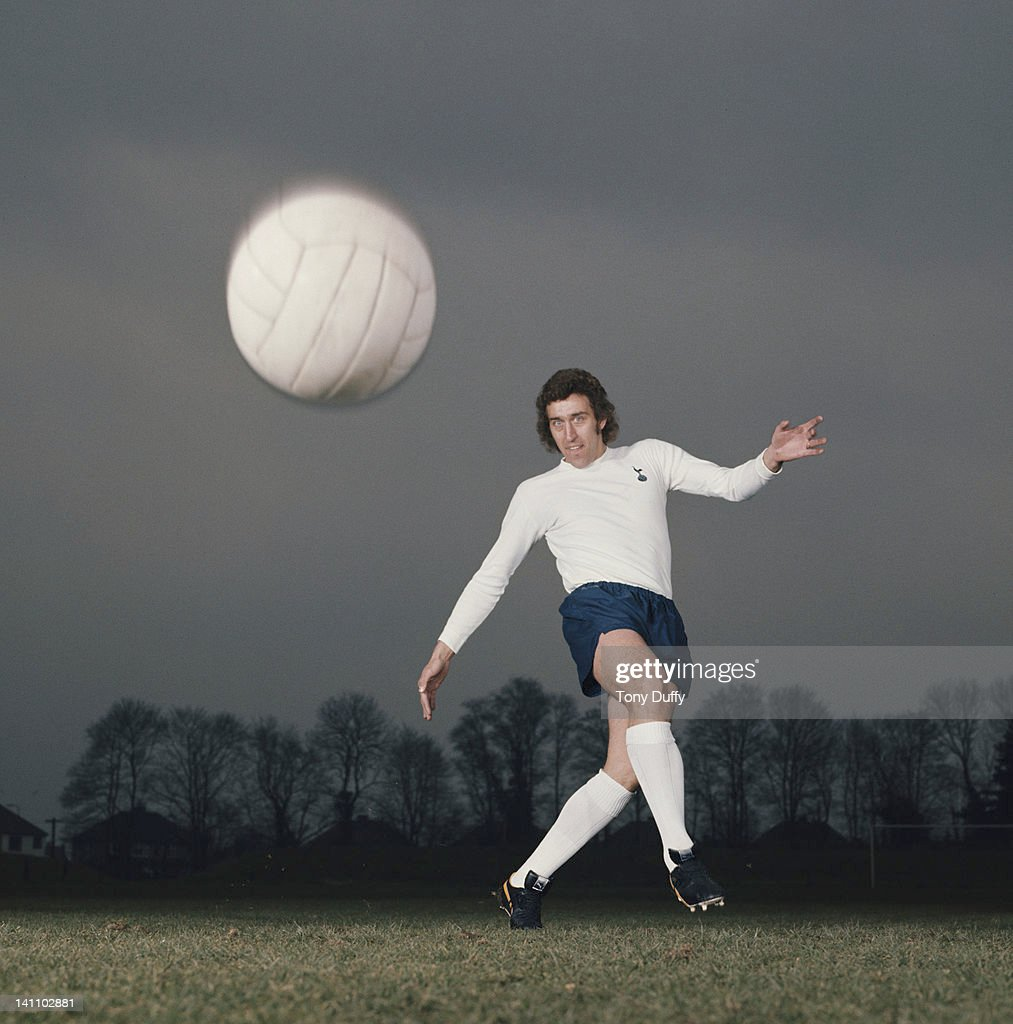Martin Chivers of Tottenham Hotspur on 1st March 1972 in Tottenham, London, Great Britain.