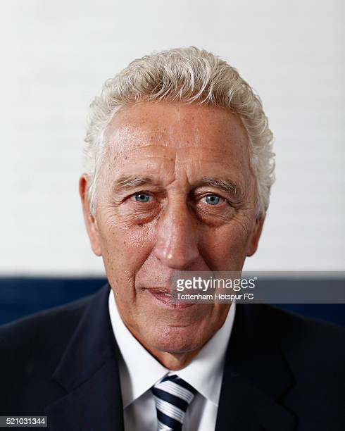 Martin Chivers poses at White Hart Lane on August 29 2015 in London England