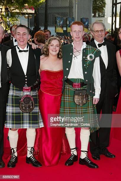 Martin Compston, Anne-Marie Fulton, William Ruane, director Ken Loach.