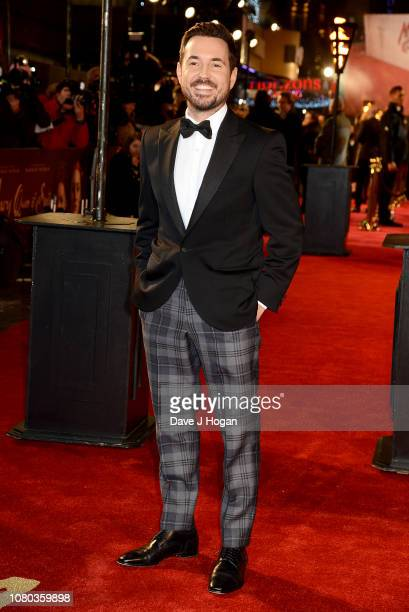Martin Compston attends the European Premiere of Mary Queen of Scots at Cineworld Leicester Square on December 10 2018 in London England